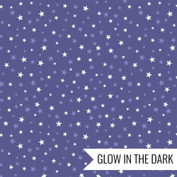 Stars in Spooky Blue