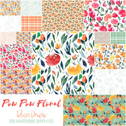 Pow Pow Floral Fat Quarter Bundle