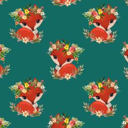 Foxy in Emerald