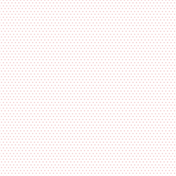 Small Winter Dot in Sweet Pink on White
