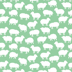 Sheep Silhouette in Sprout