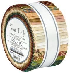 "Forest Trails Artisan Batiks 2.5"" Strip Roll"