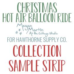 Christmas Hot Air Balloon Ride Sample Strip