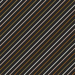 Slanted Stripe in Charcoal