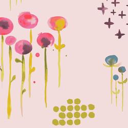 Poem in Pale Pink Metallic