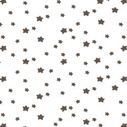 Star Light in Timber on White
