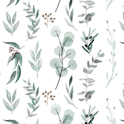 Botanical Study in White