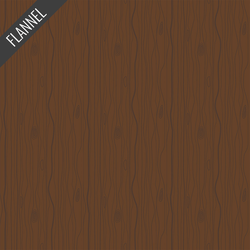 Wood Flannel in Brown