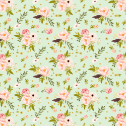 Little Bunny's Garden in Soft Moss