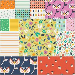 Summer Side Fat Quarter Bundle