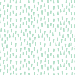 Spines in Mint Kiss on White