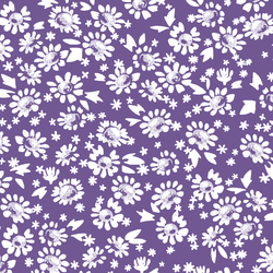 Daisies in Ultra Violet