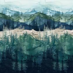 Forest Border in Whisper