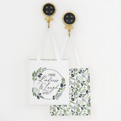 Mod Botanics Tote Panel in Foliage