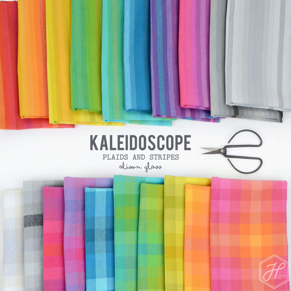 Kaleidoscope - Stripes and Plaids Poster Image