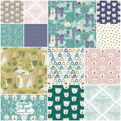 Jaguar Jungle Fat Quarter Bundle
