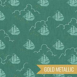 Jolly Roger in Fern Metallic