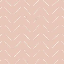 Chevron in Ballet Pink