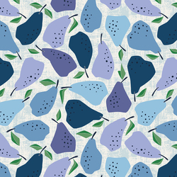 Quince in Blue