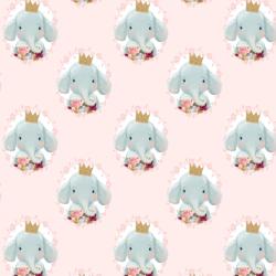 Little Ballerina Girl in Soft Blush