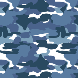 Modern Camo in Navy Blue