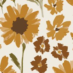 Big Golden Garden in Cream
