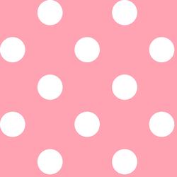 Jumbo Dot in Rose Pink