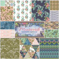 Monteverde Fat Quarter Bundle in Cloud