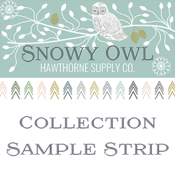 Snowy Owl Sample Strip
