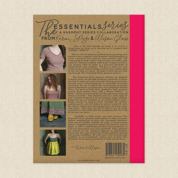 Knit Essentials Sewing Pattern By Alison Glass At Hawthorne Supply Co
