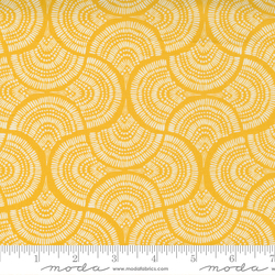 Tail Feather Geometric Dots Stripes Blender in Yellow
