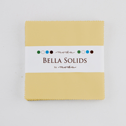 Bella Solids Charm Pack in Parchment