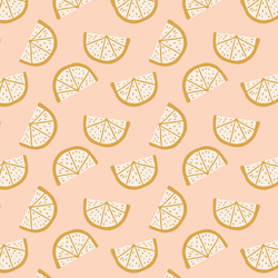 Boho Lemons in Vintage Blush