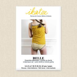 Belle Underwear Set - Girls
