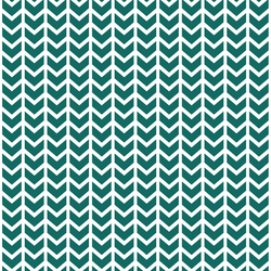 Broken Chevron in Emerald