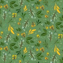 Garden Leaf in Green