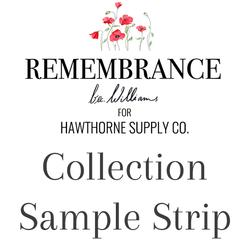 Remembrance Sample Strip