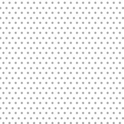 Polka Dots in Grey