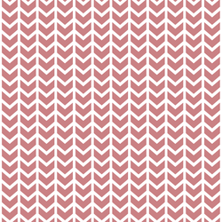 Broken Chevron in Berry