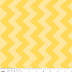 Medium Chevron Tone on Tone in Yellow