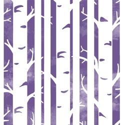 Big Birches in Ultra Violet