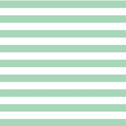 Horizontal Candy Stripe in Seaglass