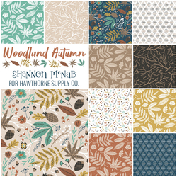 Woodland Autumn Fat Quarter Bundle