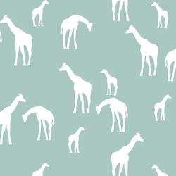 Giraffe Silhouette in Aspen