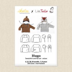 Hugo Sweatshirt and Hat Set - Baby