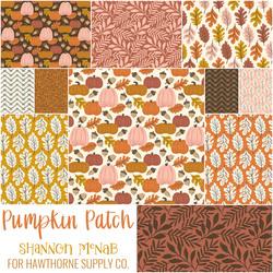 Pumpkin Patch Fat Quarter Bundle