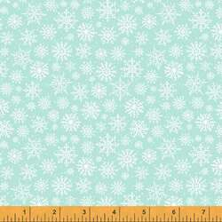 Snowflakes in Mint
