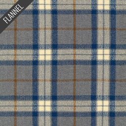 Mammoth Simple Plaid Flannel in Steel