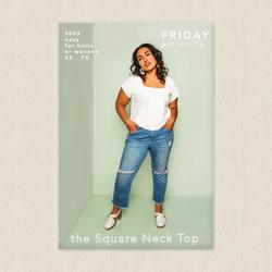 Square Neck Top