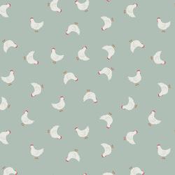 Little Hens in Duck Egg